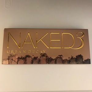 Brand new urban decay naked 3 palette!! Eyeshadow